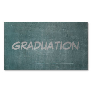 Its Real Chalk - Graduation Business Card Magnet