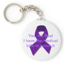 It's Real I have the medical bills to prove it Keychain