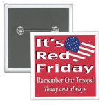 It's Red Friday Buttons