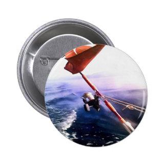 It's Reel - Gone Fishing Pinback Button