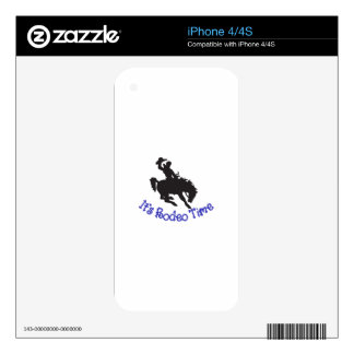 Its Rodeo Time iPhone 4S Decal