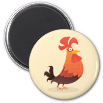 It's Rooster's Time! Magnet