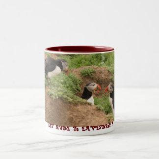 its rude to eavesdrop mug