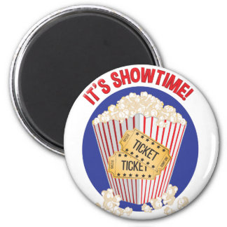 Its Showtime 2 Inch Round Magnet