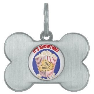 Its Showtime Pet ID Tag