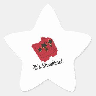 Its Showtime Star Sticker