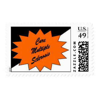 It's Simple Cure MS Postage Stamp