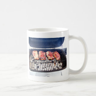 It's Snowing, Let's Grill Ribeyes! Coffee Mug