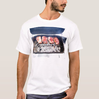 It's Snowing, Let's Grill Ribeyes! T-Shirt