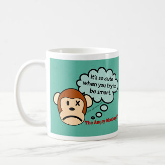 It's so cute when you try to be smart classic white coffee mug