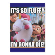 its so fluffy im gonna die magnet
