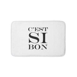 It's So Good - C'est Si Bon French Bathroom Mat