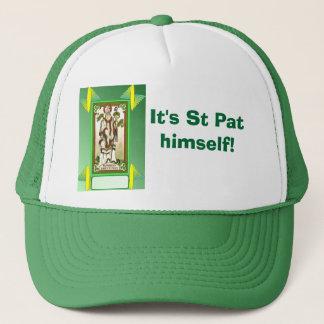 It's St Pat himself! Trucker Hat