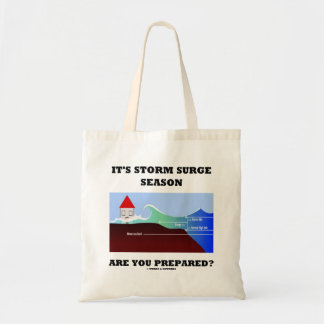 It's Storm Surge Season Are You Prepared? Tote Bag
