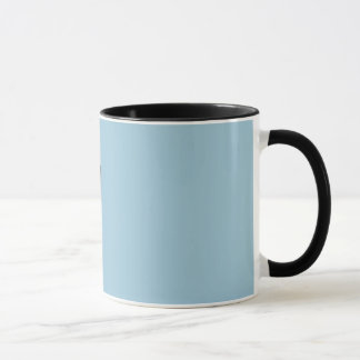 It's subtle.  And then not subtle at all. Mug