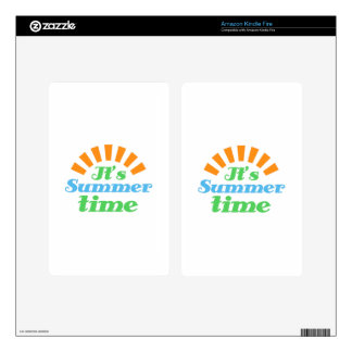 Its Summer Time Decals For Kindle Fire