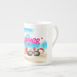 It's Summer Time Tea Cup