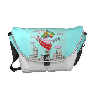 It's Super Cluck Courier Bag