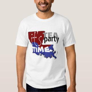 It's Tea Party Time Louisiana T Shirt