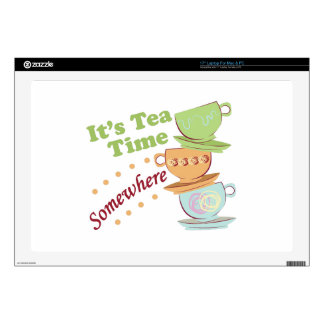 It's Tea Time Decal For Laptop