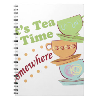 It's Tea Time Note Book