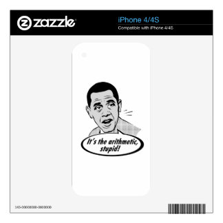 It's the arithmetic! iPhone 4 decal