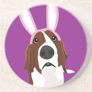 It's the Easter Basset Coasters
