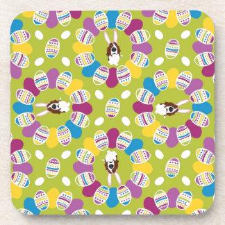 It's the Easter Basset Beverage Coaster