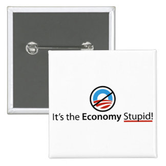 It's The Economy Stupid Button