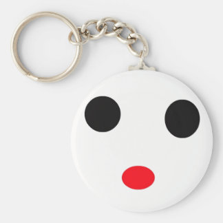 it's the face keychain