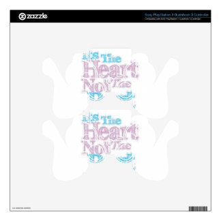 Its The Heart Not The Part Transgender Skins For PS3 Controllers