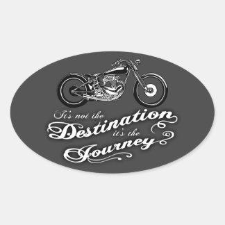 It's the Journey Oval Sticker