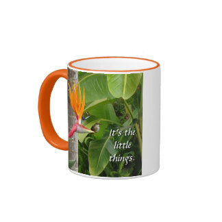 It's the Little Things Ringer Mug