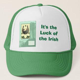 It's the  Luck of  the Irish Trucker Hat