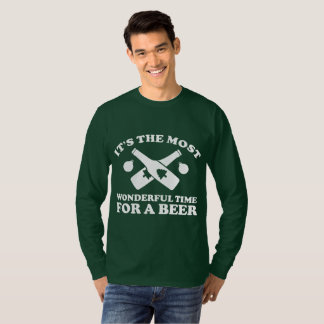 Its The Most Wonderful Time For Beer Christmas T-Shirt