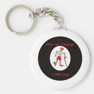 Its The original Hows My Limping ? guy key chain!! Basic Round Button Keychain