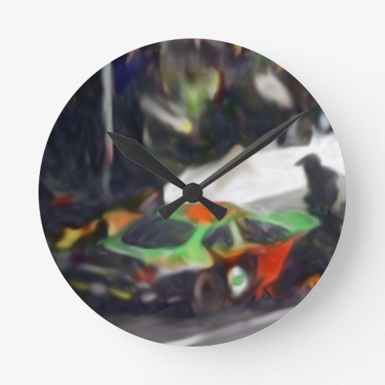 Its The Pits Wall Clock