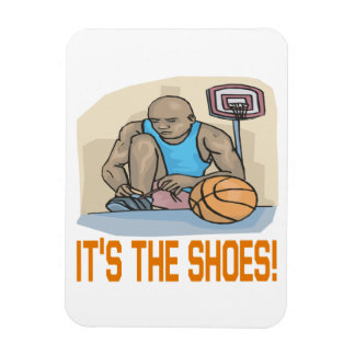 Its The Shoes Rectangular Photo Magnet