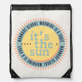 Its The Sun Drawstring Backpack