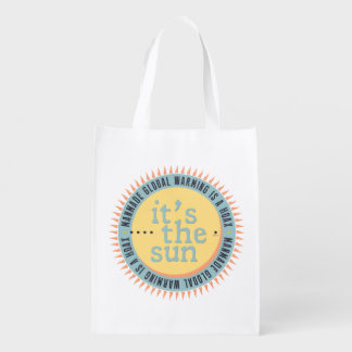 Its The Sun Grocery Bag