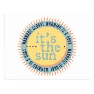 Its The Sun Postcard