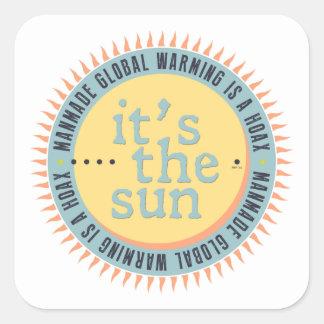 Its The Sun Square Sticker