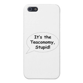 It's the Teaconomy, Stupid! Cases For iPhone 5