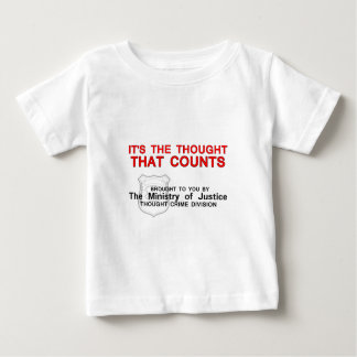 It's the Thought that Counts Baby T-Shirt
