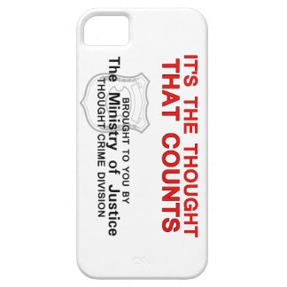 It's the Thought that Counts iPhone 5 Case