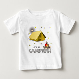 Its the weekend-lets go camping-3.png baby T-Shirt