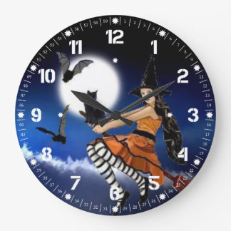 Its The witching Hour Walll Clock