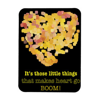 Its those little things that... rectangular photo magnet