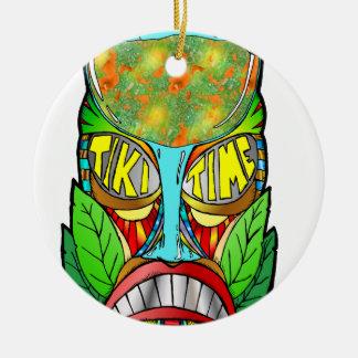 It's Tiki Time Ceramic Ornament