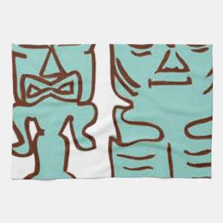It's Tiki Time! Kitchen Towels